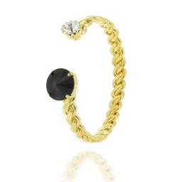Orla Jet Black Bangle