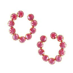 Aspect Scarlet Red Earrings