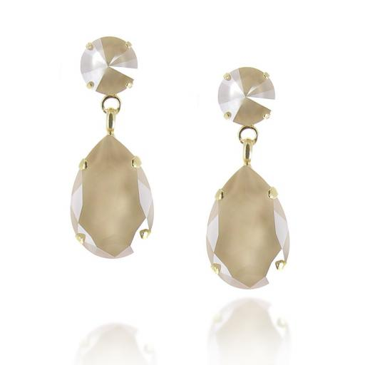 Angelina Pastel Crystal Earrings