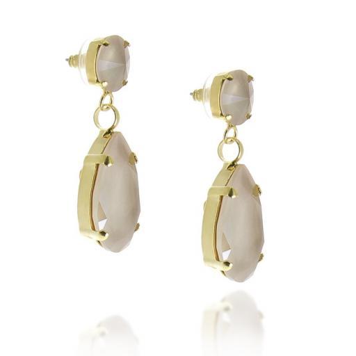 Angelina Pastel Crystal Earrings