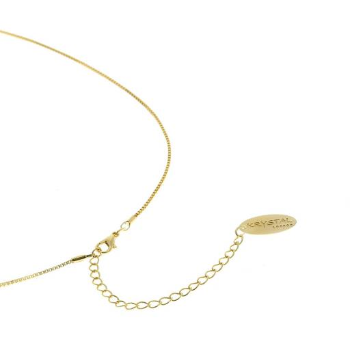 Ari Gold Plated Low Collar Necklace