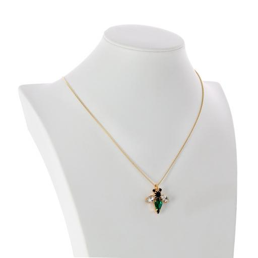 Bumble Bee Gold Plated Necklace