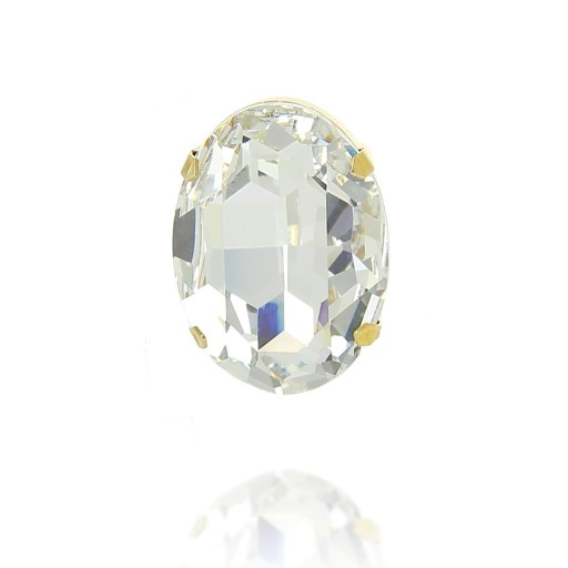 Ova Clear White Ring