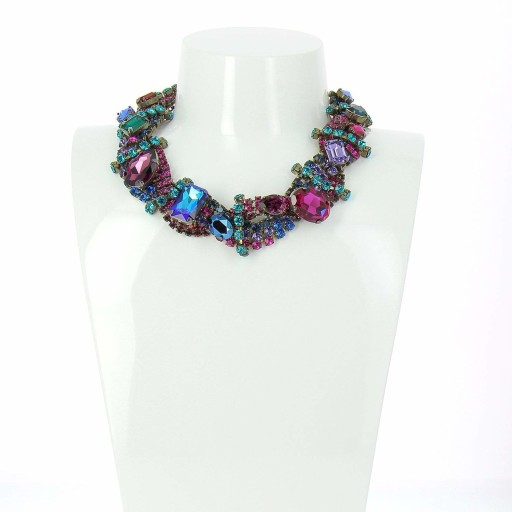 AURORA Amethyst And Sapphire Necklace