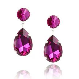 Angelina Classic Crystal Earrings