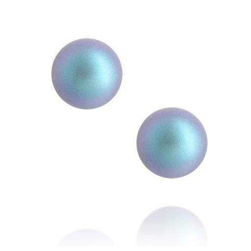 Cosmic Sterling Silver Pearl Earrings