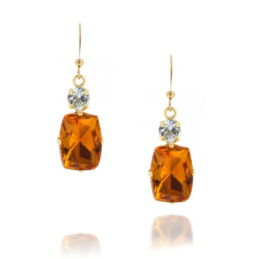 Valentina Square Drop Earrings