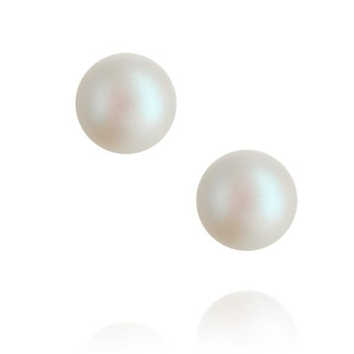 Classic Sterling Silver Pearl Earrings