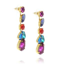 crystal krystal london drop earring multicoloured Evra far side on.jpg