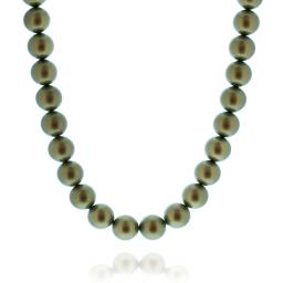 Crystal Pearl Necklace 16mm