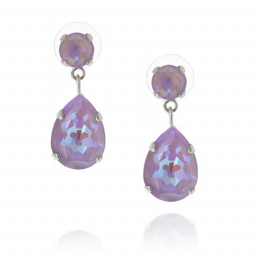 mini angelina earrings purple crystal front on.jpg