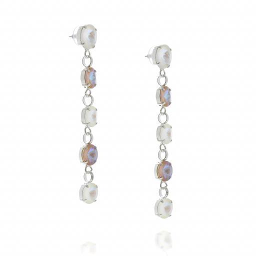 5 Tier rovoli earrings Hina light rain drops far krystal london far side on.jpg