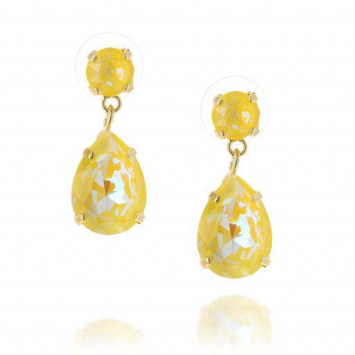 yellow mini angelina earrings krystal london crystal honeycomb front on .jpg