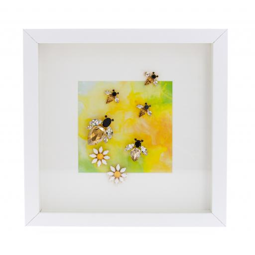 Bumble Bee Dash Picture Frame