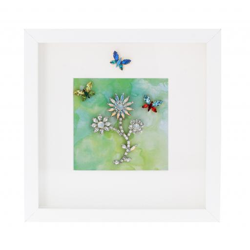 Clear Flower Dance Picture Frame