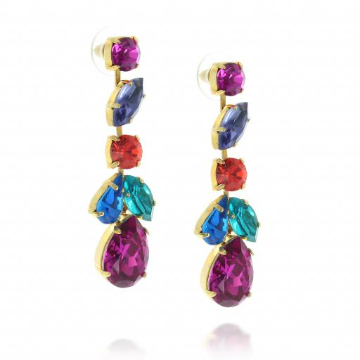 crystal krystal london drop earring multicoloured Evra side on.jpg