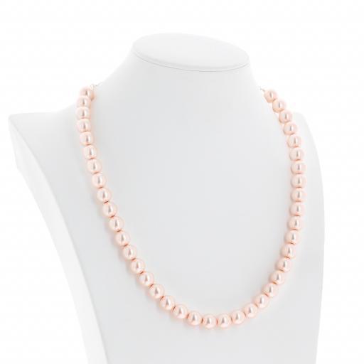 Red Coral Pearl Necklace Krystal pearls side on London_.jpg