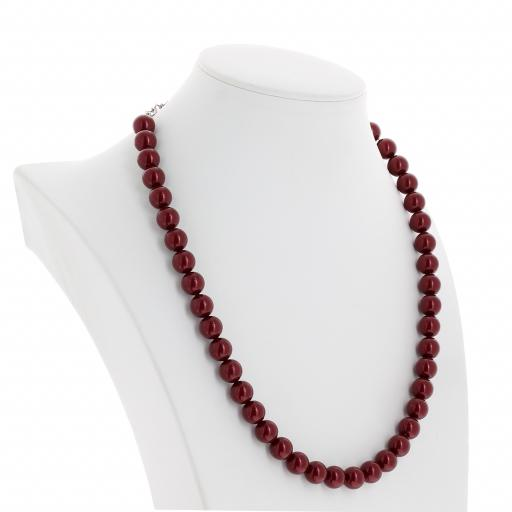 Red Coral Pearl Necklace Krystal far side London_.jpg