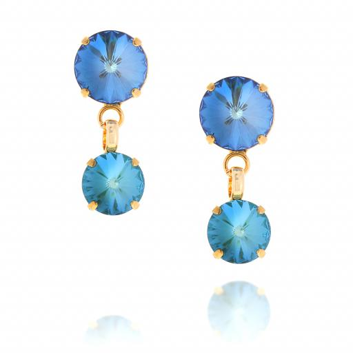 Shimmering Mini Nuha Drop Earrings