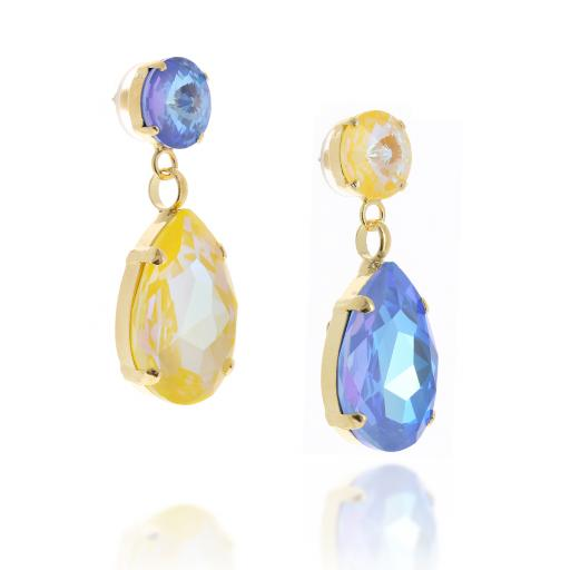far side on shimming blue and yellow paradox anglina earrings krystal.jpg