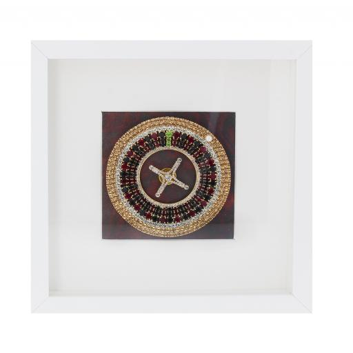 Crystal Roulette Picture Frame