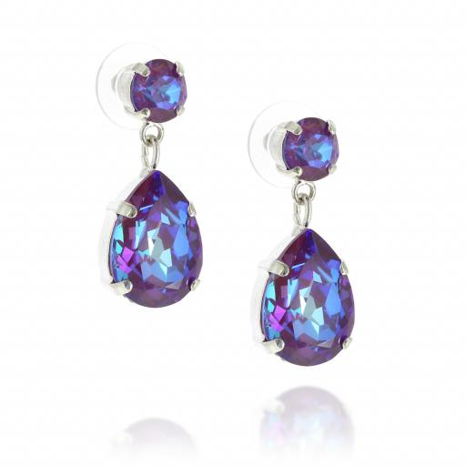 mini angelina earring purple front on crystal side on.jpg