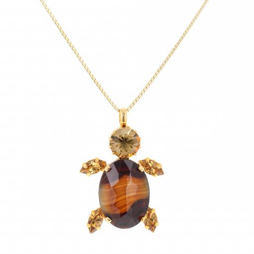 Turtle topaz necklace agate krystal london close up.jpg