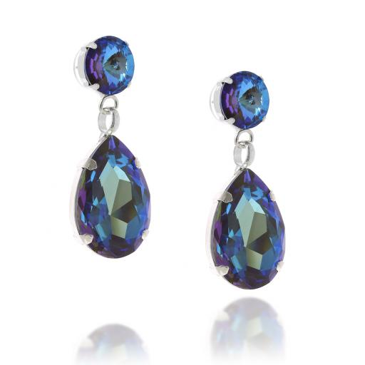 angelina army Delight earrings blue far side on.jpg