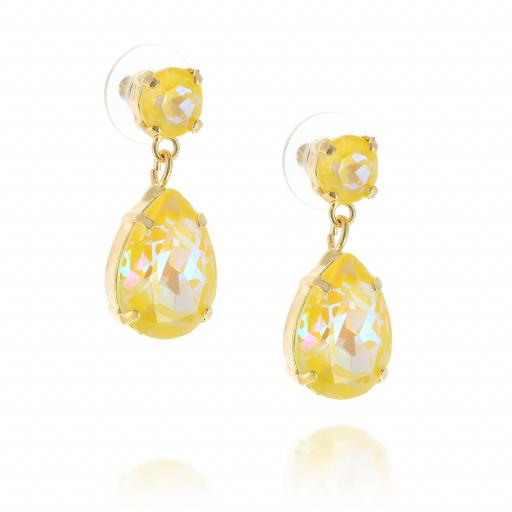 yellow mini angelina earrings krystal london crystal honeycomb side on .jpg