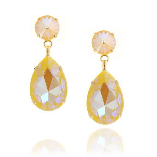 front on shimming yellow  anglina earrings krystal.jpg