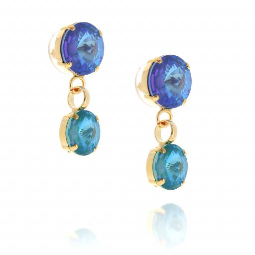 2 tier blue drop krystal london crystal earring far side.jpg