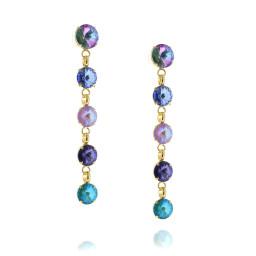 5 Tier rovoli earrings Hina purple rain drops side on.jpg