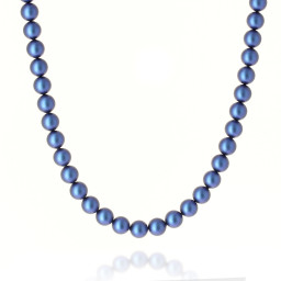 Comstic Blue Pearl Necklace Krystal Pearls only London_.jpg