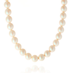 pearl necklace 16mm CRYSTAL PEARLESCENT WHITE Necklace Krystal London maniquin pearls only.jpg