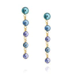 5 Tier rovoli earrings Hina rain drops far krystal london side on.jpg