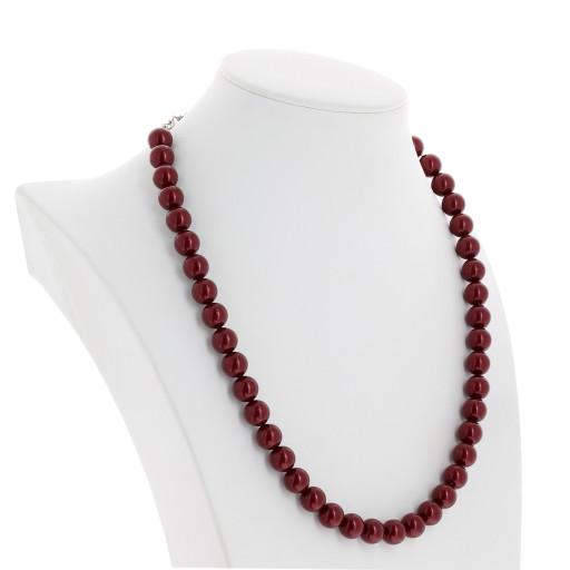 Red Coral Pearl Necklace Krystal far side London_.jpg