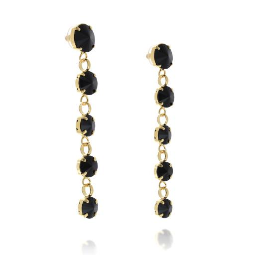 5 Tier rovoli earrings Hina jet drops far krystal london  far side on.jpg