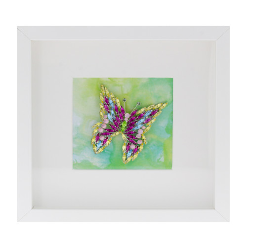 butterfly multicoloured crystal picture frame krystal london butterflies front on.jpg