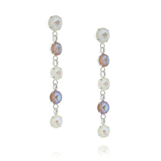 5 Tier rovoli earrings Hina light rain drops far krystal london side on.jpg