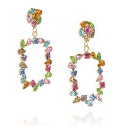 large frame geometric statment earrings multi coloured square abstract dangle drop side on.jpg
