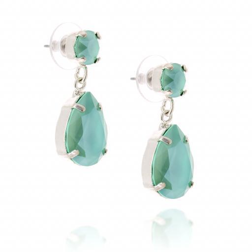 mini angelina crystal buttercup earrings silver crystal far side on.jpg