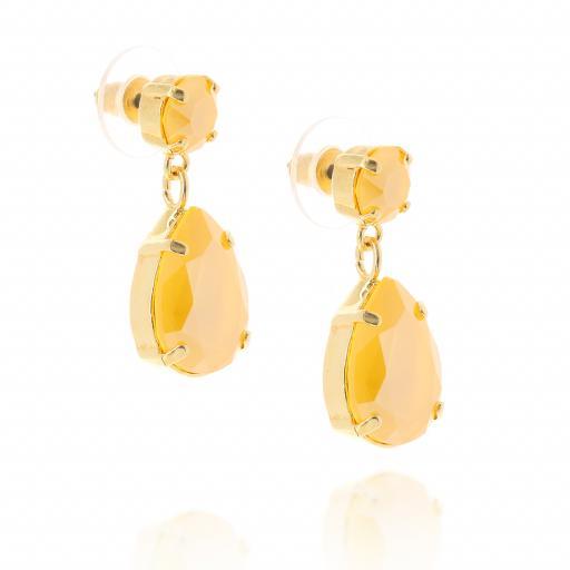 mini angelina crystal buttercup earrings crystal side on.jpg