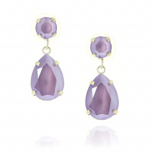 mini angelina crystal Liac silver earrings crystal front on on.jpg
