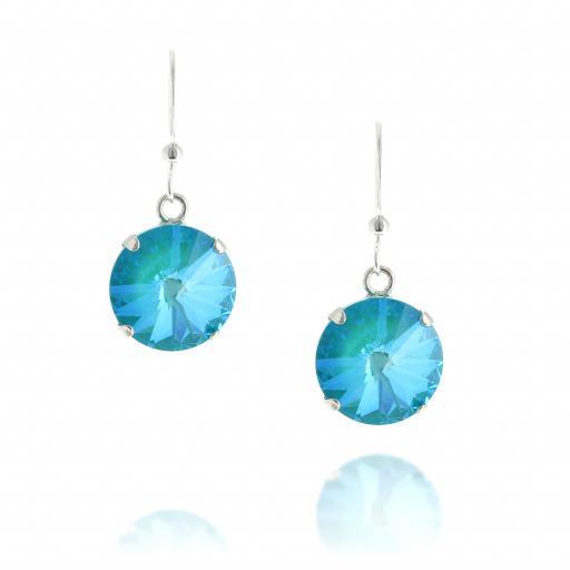shimming rovoli earring crystal krystal london hook front on Luguna.jpg