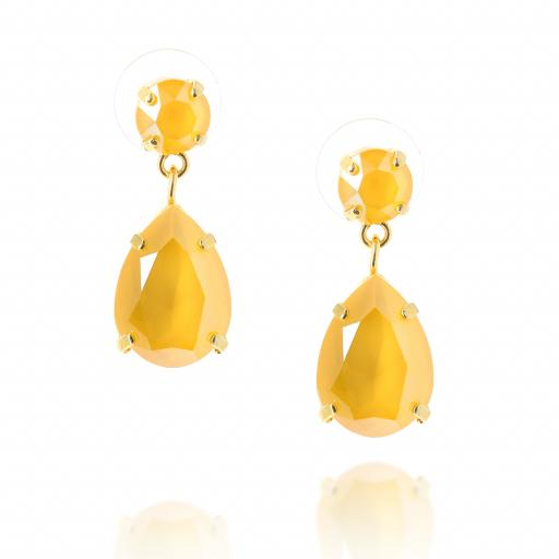 mini angelina crystal buttercup earrings crystal front on.jpg