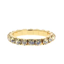 Topaz Gold plated bracelet krystal london swarovski single band bracelet.jpg