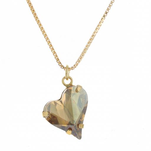 Big heart necklace topaz 17mm-25mm Krystal London Gold Plated Swarovski.jpg