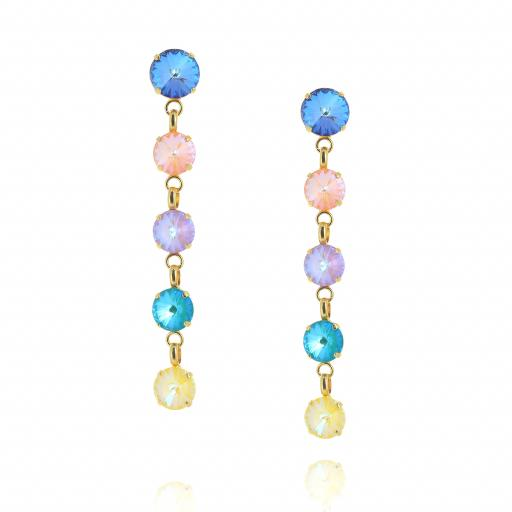 5 Tier rovoli earrings Hina Summers Day drops far krystal london front on.jpg