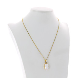 valentina square rectangle necklace white chalk  krystal london swarovski side on.jpg
