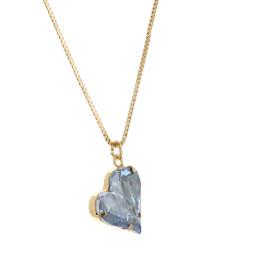 Big heart necklace blue 17mm-25mm Krystal London Gold Plated Swarovski.jpg